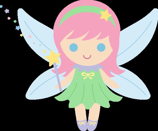 picture library library Retro clip art cute. Fairy clipart.