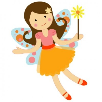 png black and white library Fairy clipart. Free download clip art