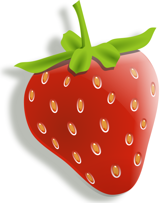 banner freeuse Lemons cherries fruit clipart. Drawing strawberries animated