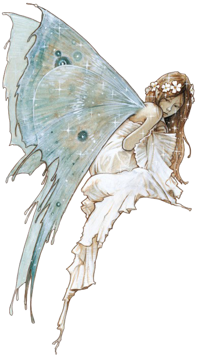 clipart royalty free stock The Blue Fairy by Jean