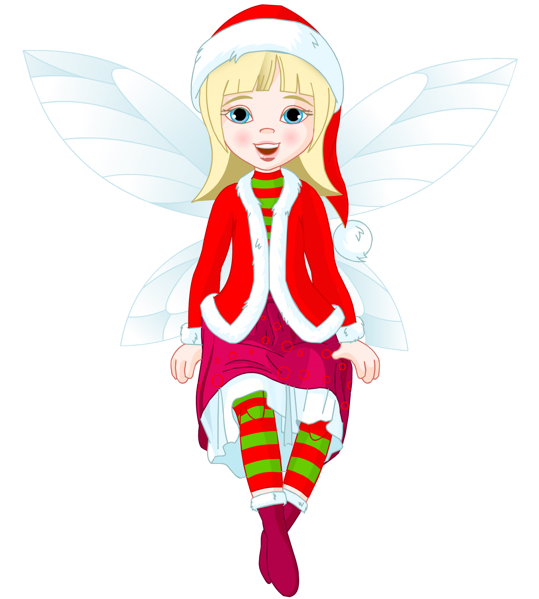 svg freeuse library fairy transparent christmas #96433811