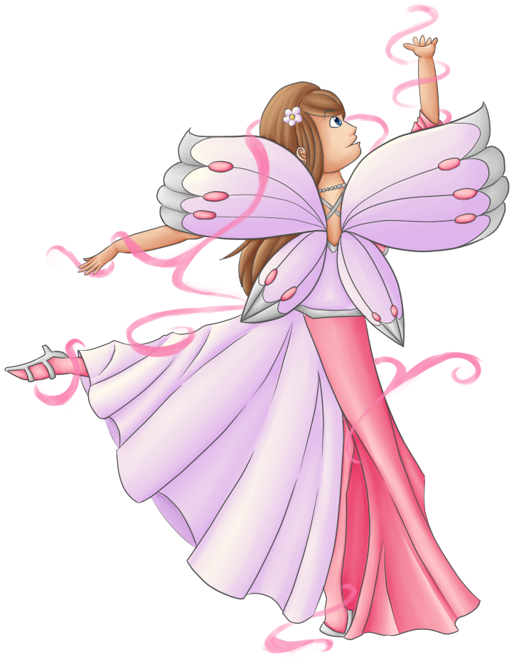 clipart royalty free Dancing Fairy Queen by eagle