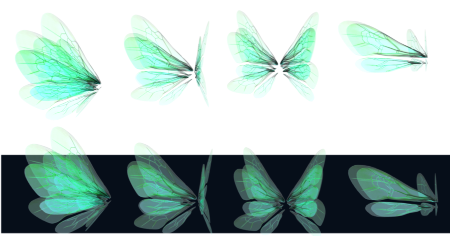 banner stock Glowing Wings png by mysticmorning on DeviantArt