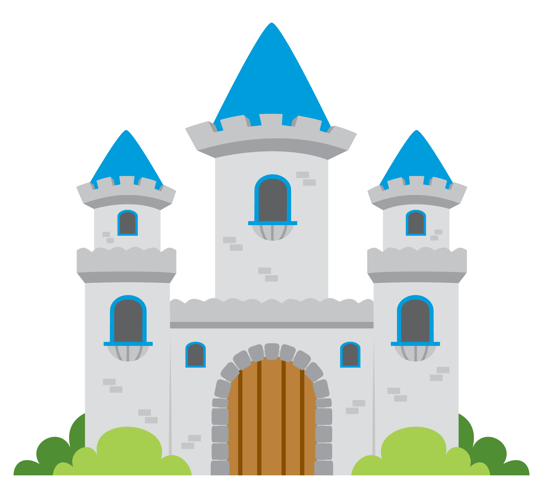 picture royalty free library Fairy tale castle clip. Fairytale clipart.