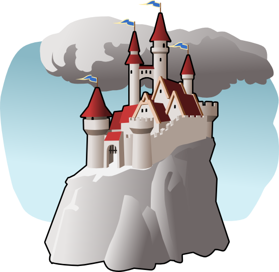 graphic freeuse Fairytale clipart. Fairy tale castle free.