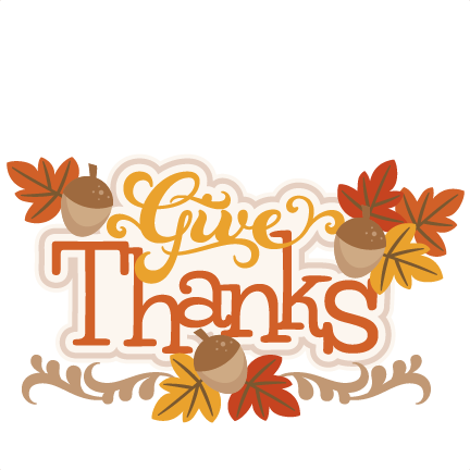 image download Give thanks south hill. Clipart happy thanksgiving