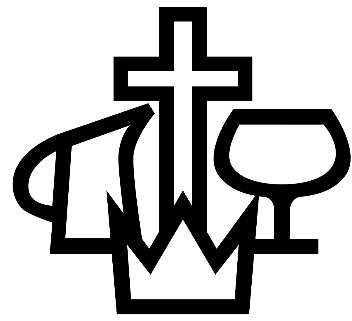 svg black and white download faith svg transparent #112725818