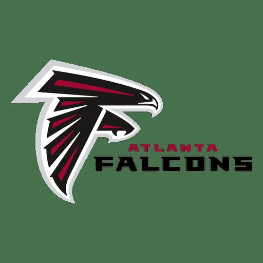 jpg black and white library Atlanta falcons american football