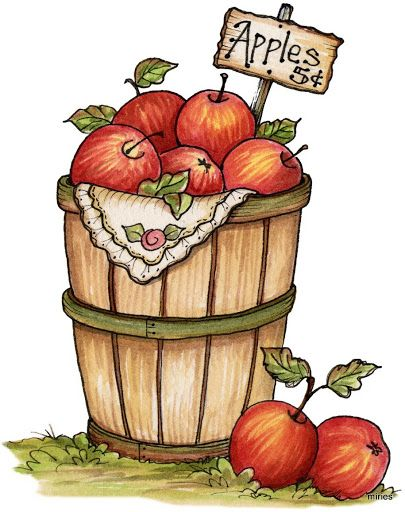 image free stock Fall apples clipart. Pin on cs fruit