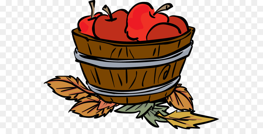 clip black and white library Autumn flower apple food. Fall apples clipart