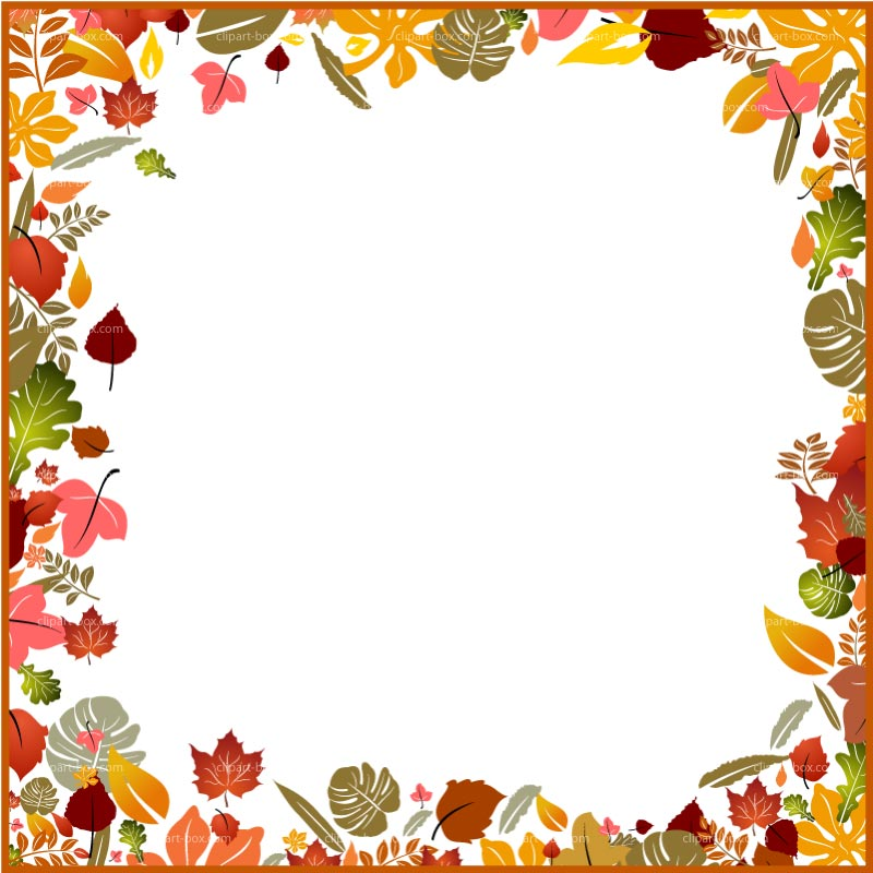 transparent Fall borders clipart. Free pictures clipartix .