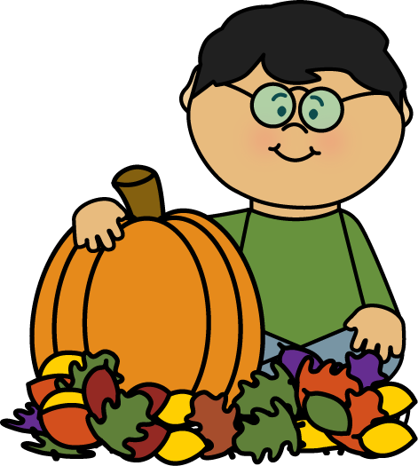 svg freeuse Fall clipart. Clip art images boy.