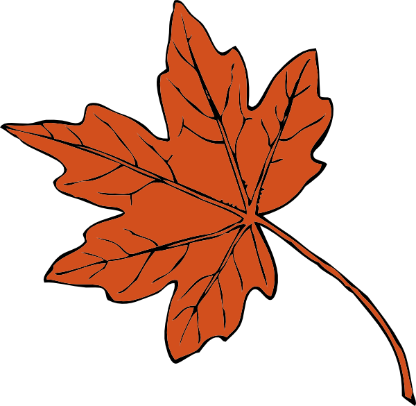transparent library Clip art at clker. Maple clipart leaf pattern.