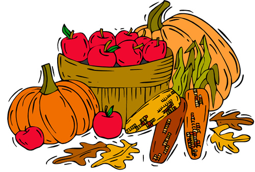 freeuse stock Free autumn cliparts download. Fall food clipart