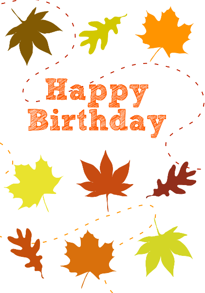 banner transparent download Theme tier brianhenry co. Fall happy birthday clipart