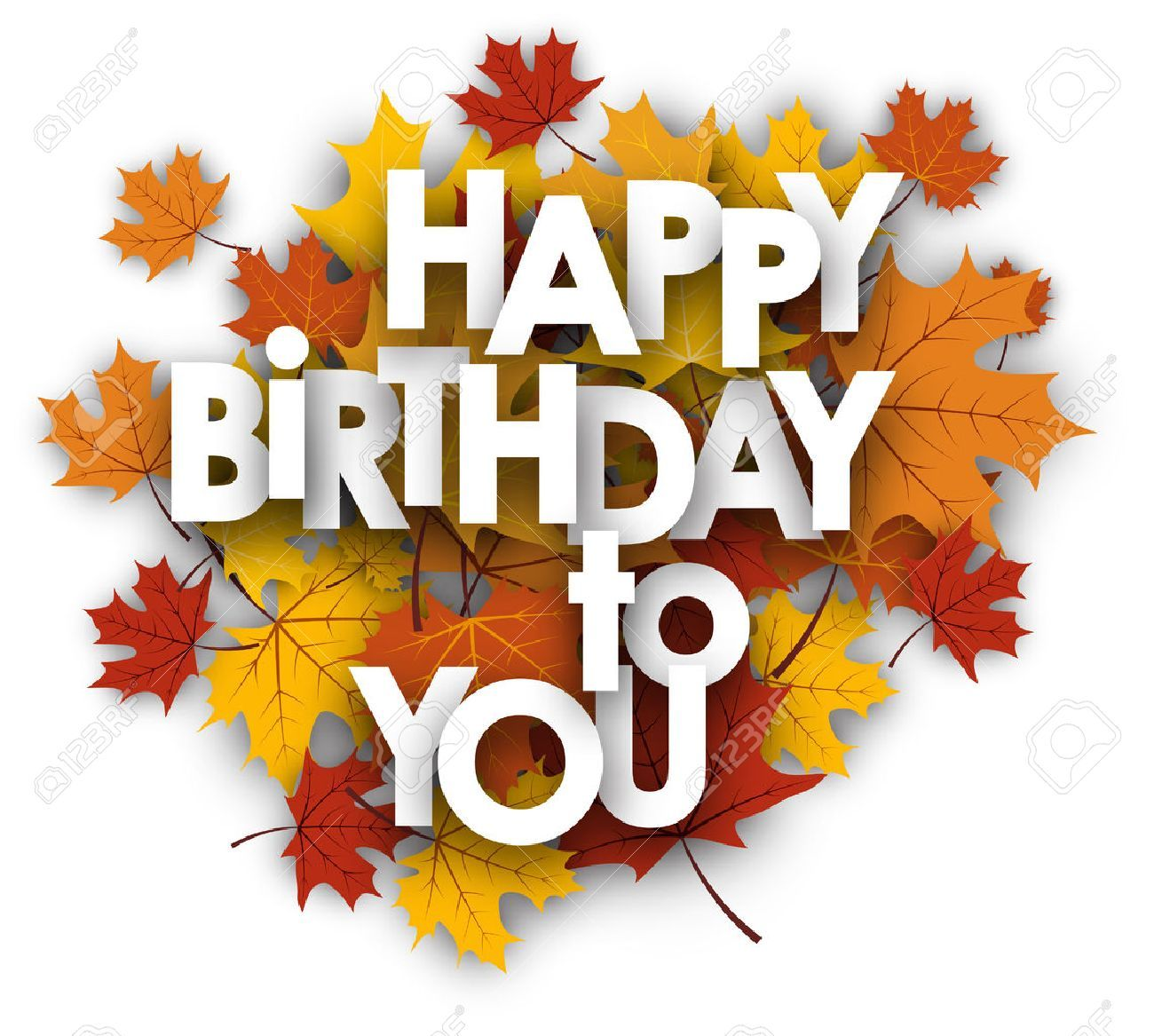 clipart freeuse download Fall happy birthday clipart. Image result for