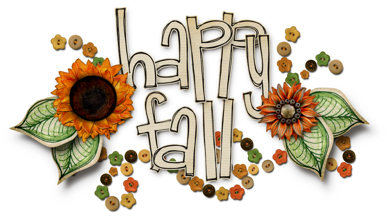 banner black and white library fall day clip art