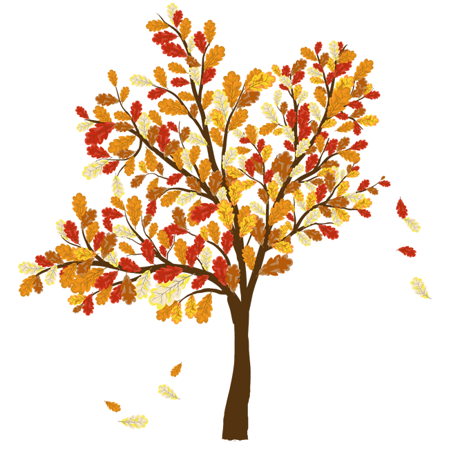 clip art free download Fall Tree Clipart