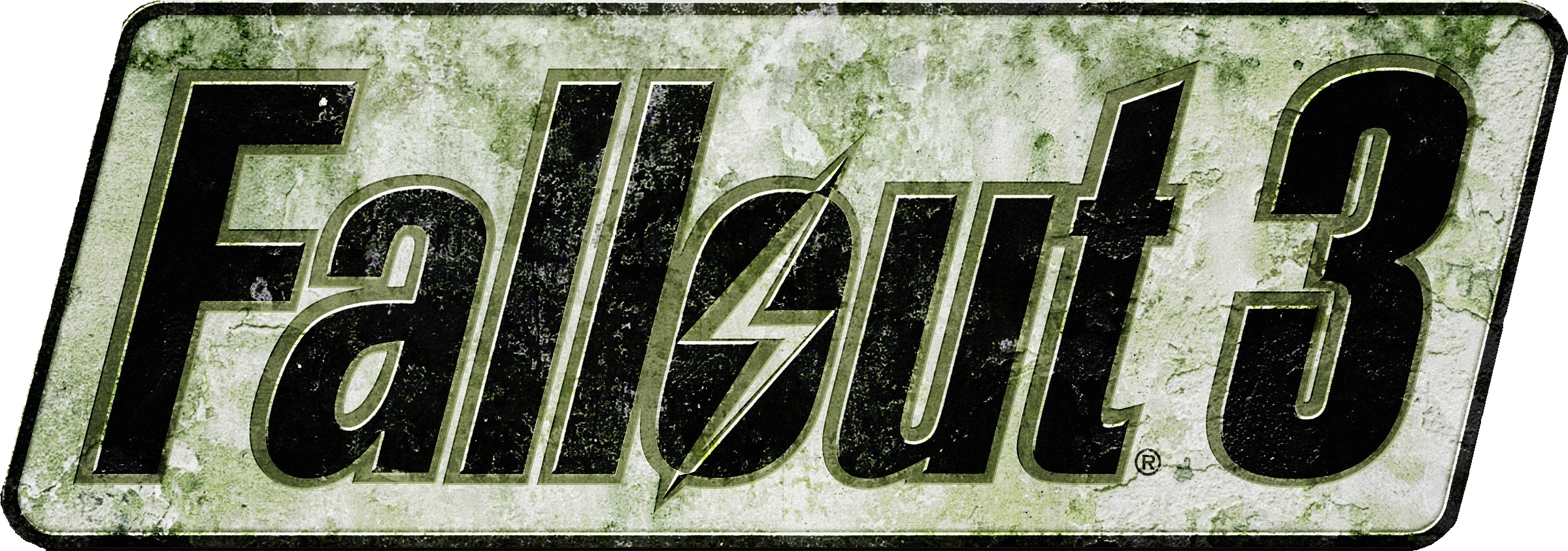 vector freeuse Logo png . Fallout transparent 3
