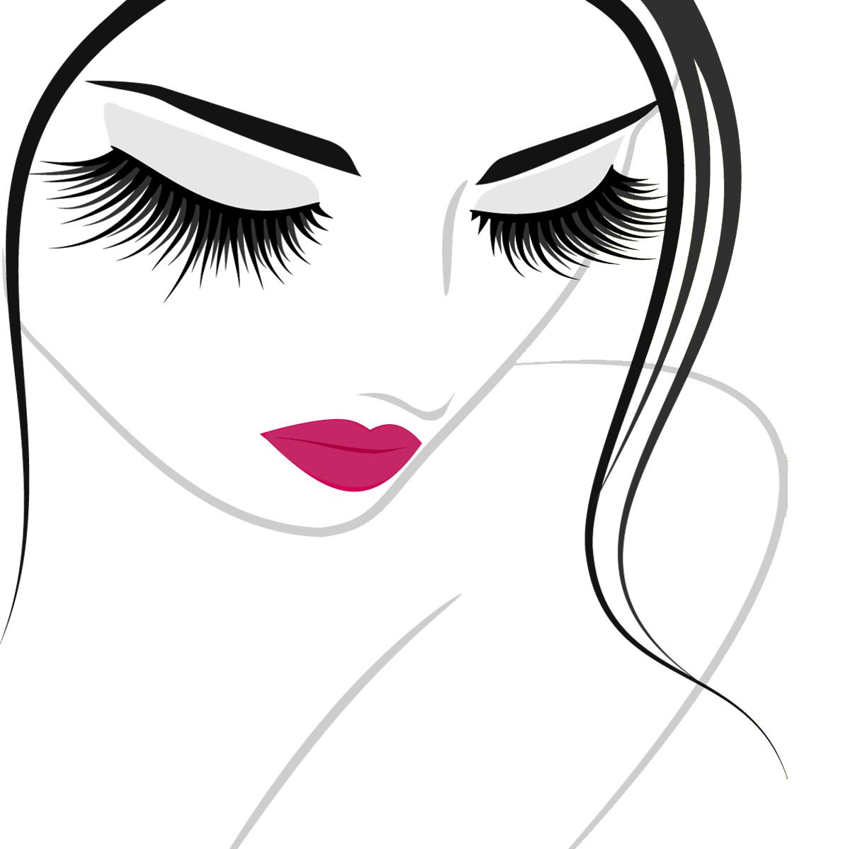 free stock eyelash clipart logo #78657295