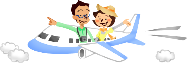 clip royalty free Families clipart airplane. Couple traveling by free