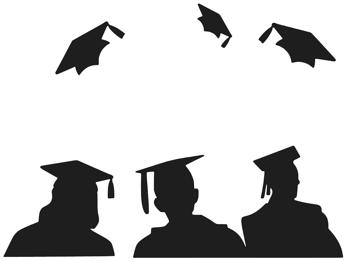 svg freeuse library graduation clipart