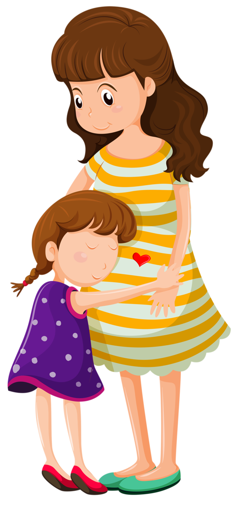 vector royalty free  png clip art. Families clipart hug