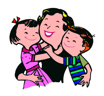 png free Families clipart hug. Family clip art library