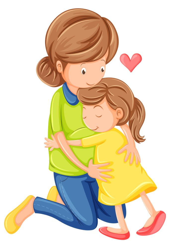 png freeuse stock Family hugging station . Families clipart hug