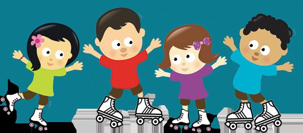 banner Skateaway family skate centre. Families clipart roller skating