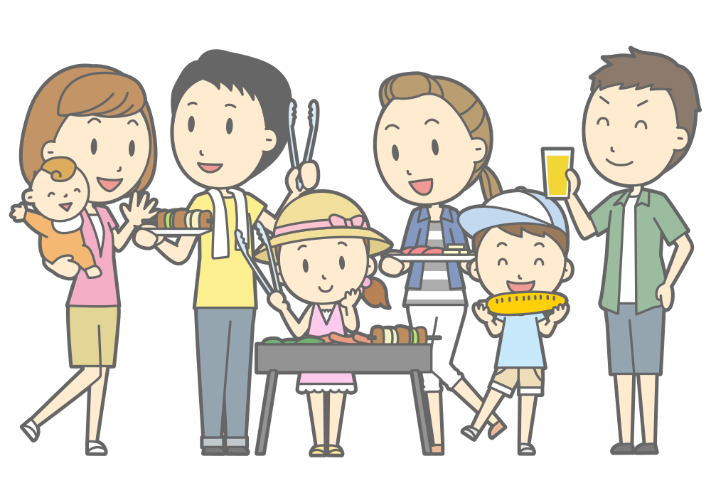 picture black and white Barbecue clipart family barbecue FREE for download on rpelm