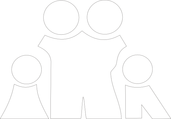 vector library Family black and white clipart. Jpg clip art at