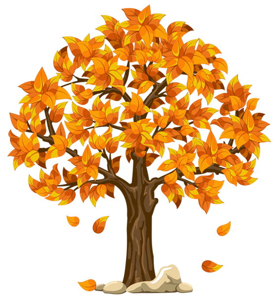 clipart library stock Transparent Fall Orange PNG Clipart Picture