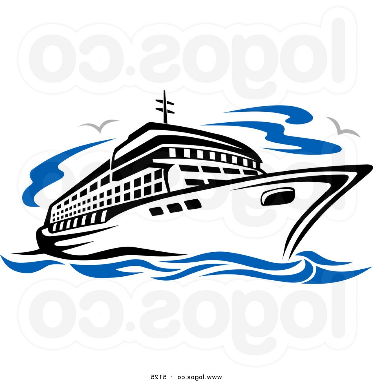 graphic free library Free download best . Yacht clipart river cruise
