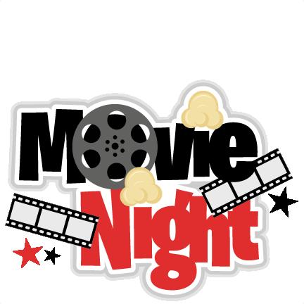 svg stock Family Movie Night