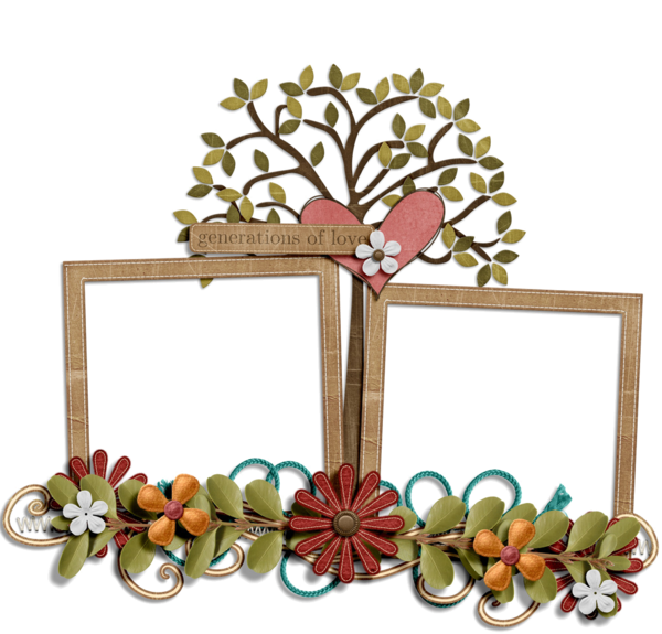 png black and white family picture frame clipart #62888632