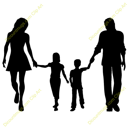 jpg transparent stock Clip art panda free. Family walking clipart