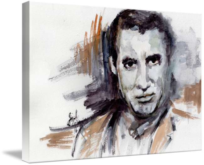 jpg freeuse download Drawing portrait famous. Cary grant classic movie
