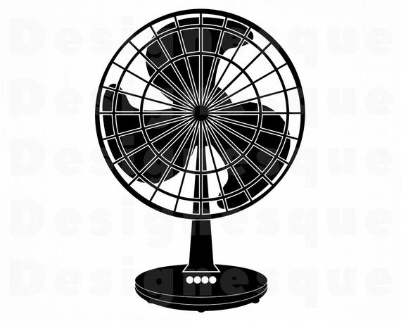 graphic freeuse Fan clipart. Svg summer files for.