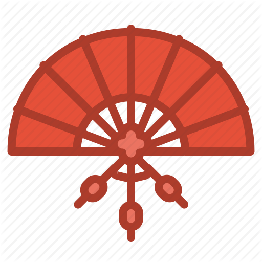 image freeuse library Fans Clipart chinese decoration