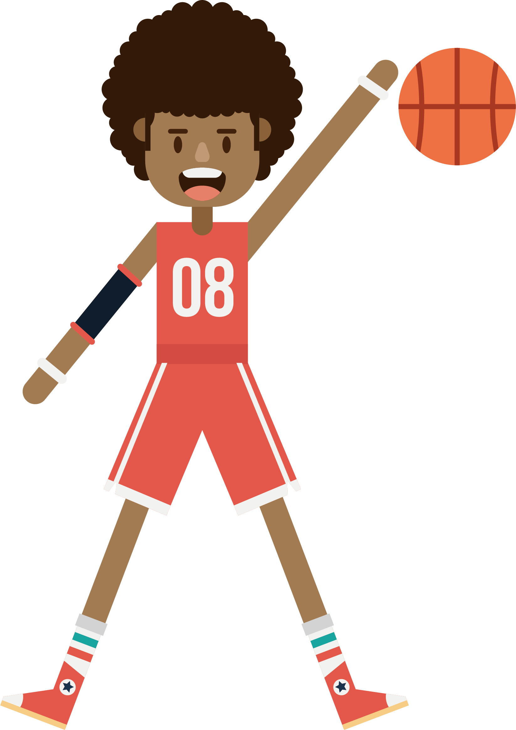 svg library download Basketball player Athlete Basketball court