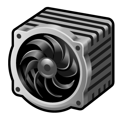 image free download fan vector cpu #96454964