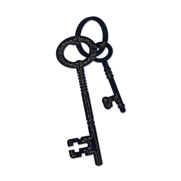 png transparent Fancy skeleton key clipart.  collection of high