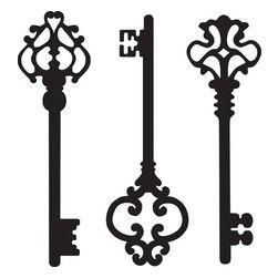 jpg freeuse download Fancy skeleton key clipart. Portal