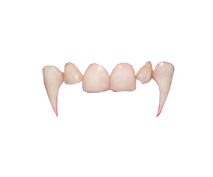 image transparent Image vampire teeth background. Fangs transparent