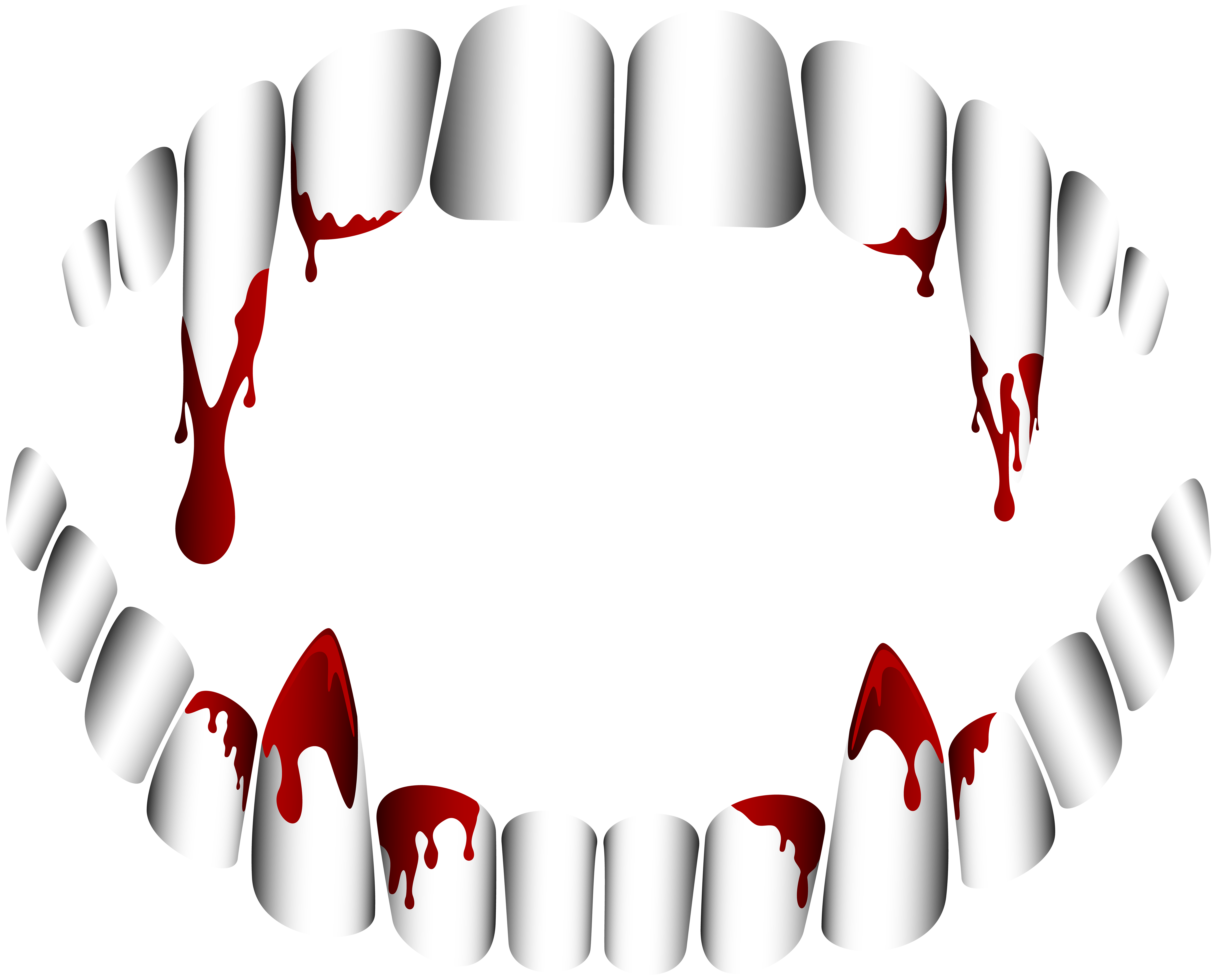 svg freeuse stock Vampire fang tooth clip. Fangs transparent