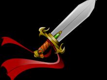 svg transparent stock Fantasy clipart. Clip art this sword