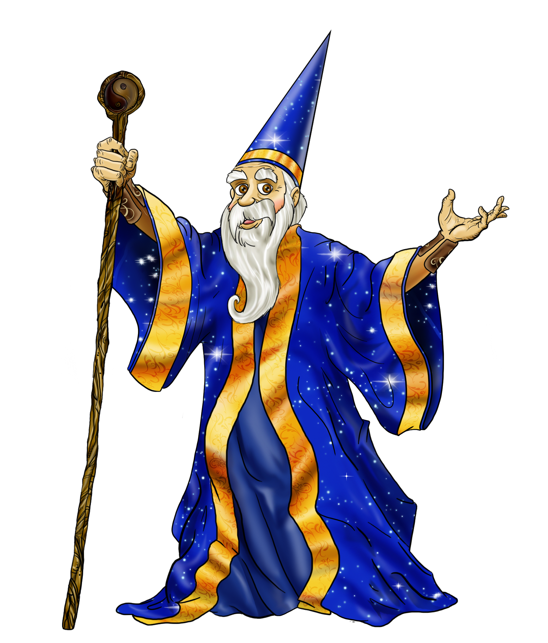 graphic free Fantasy clipart wizard. Png transparent free images.