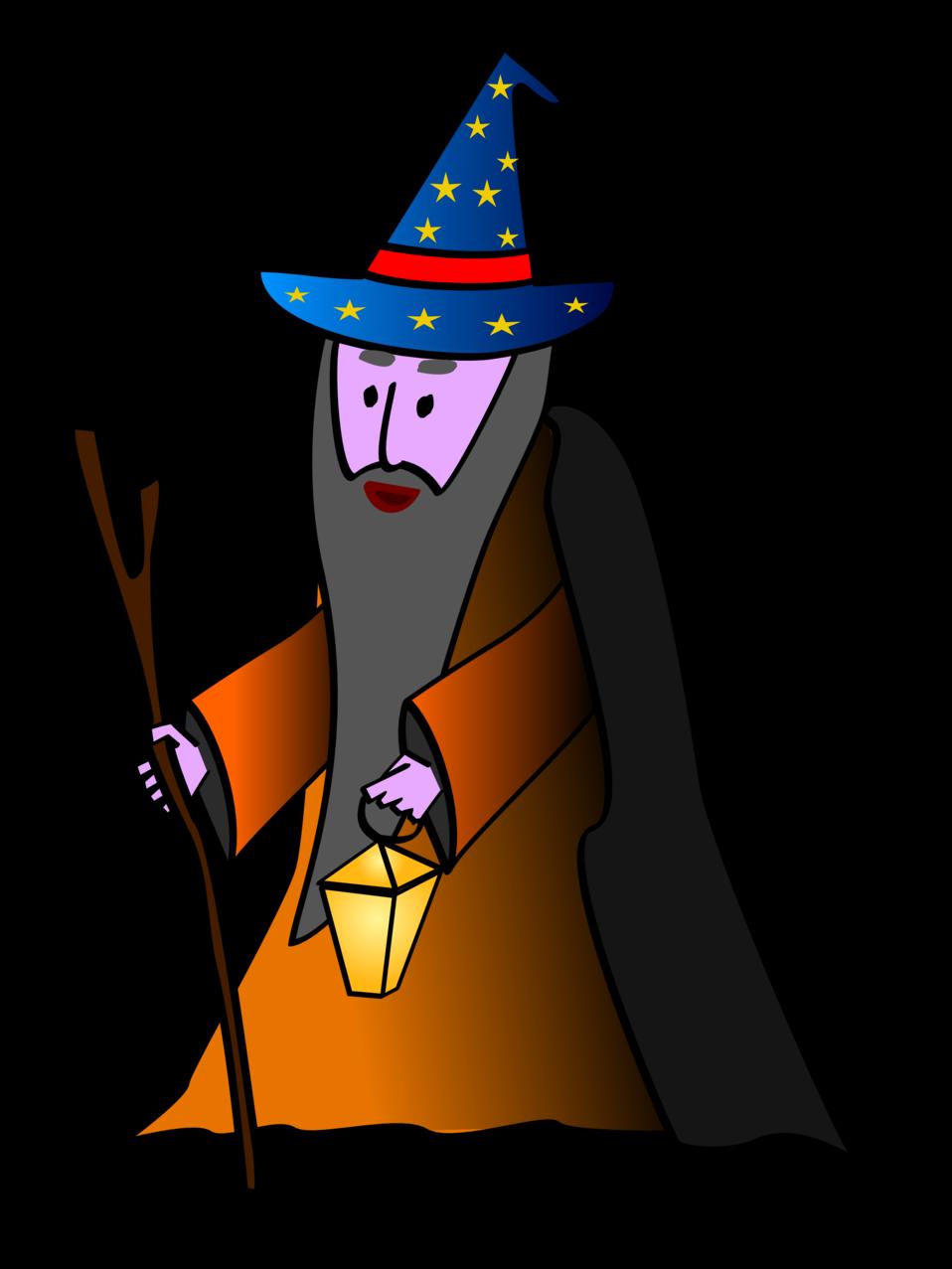 svg freeuse stock Fantasy clipart wizard. Public domain clip art.