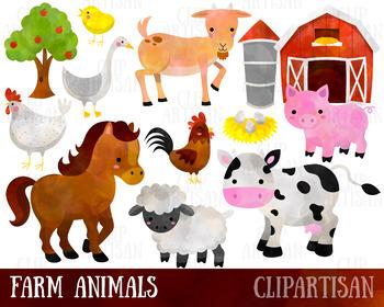 image royalty free Animals . Farm animal clipart